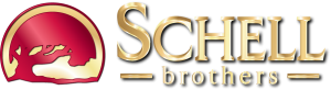 NEW Shiny Gold Schell Brothers HORIZONTAL 4C FA
