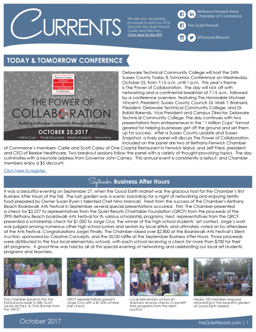 October Newsletter Page 1