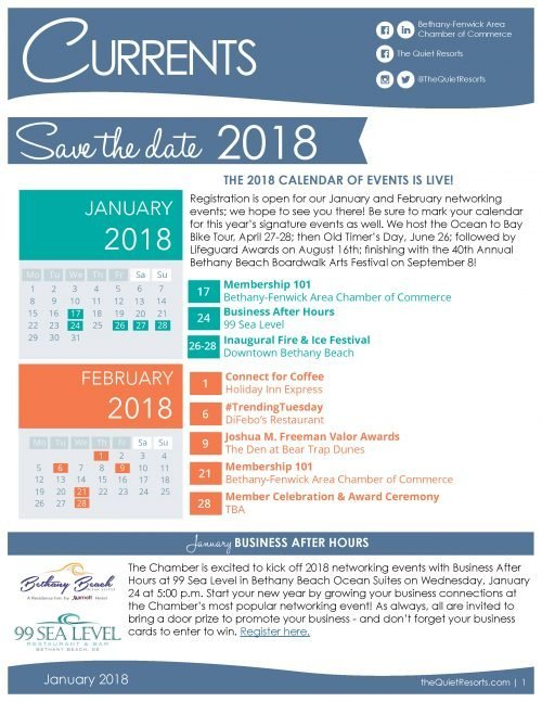 January2018 Newsletter Page 1