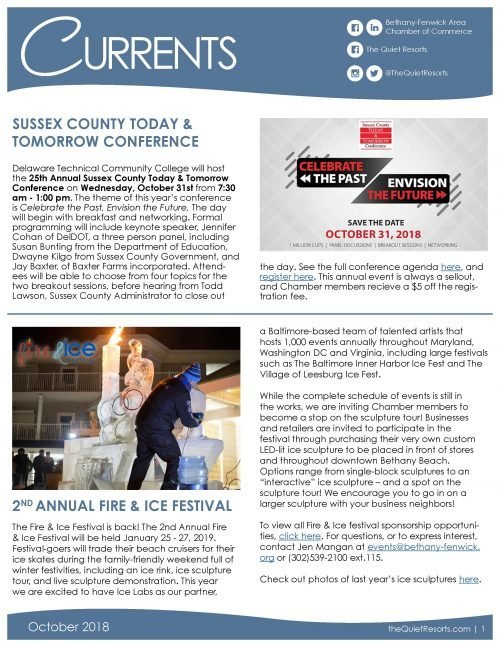 October2018 Newsletter Page 1