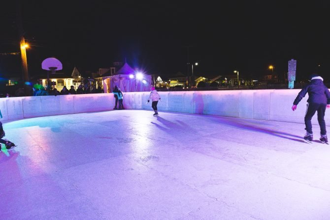 Fire & Ice Festival | Southern DE Tourism Ice Rink