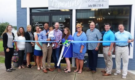 Tatum Poole Ribboncutting 1