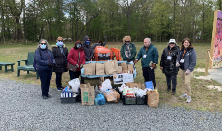 Delaware Botanic Gardens Raised 570 pounds of food for Food Bank of Delaware