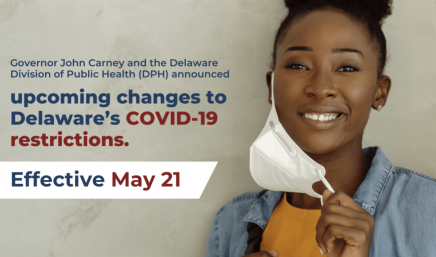 Governor Carney Announces Major Changes To COVID-19 Restrictions In Delaware